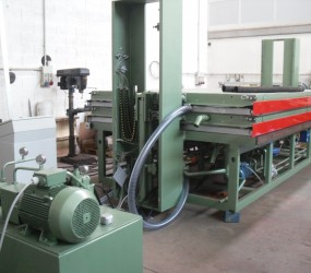 Reconditioning leather machine